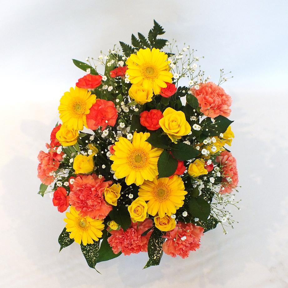 アレンジメント 黄橙系