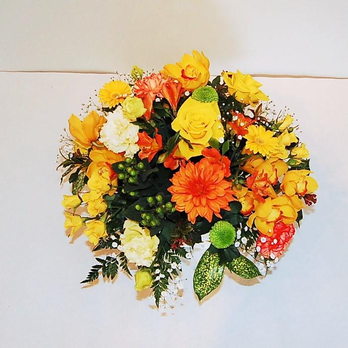 アレンジ 黄橙系
