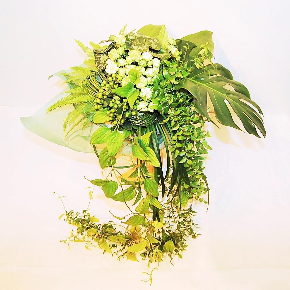ブーケ 白緑系