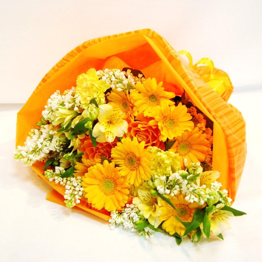 花束 黄色系
